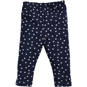 Kujju 6-18 Months Baby Girl Navy Blue Tights
