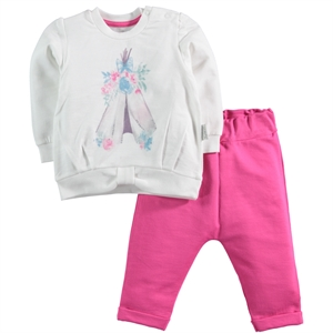 T.F.Taffy Fuchsia Baby Girl 3-12 Months F. T. Team Taffy