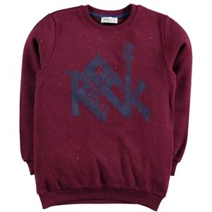 Cvl Age 6-9 Boy Sweatshirt Burgundy