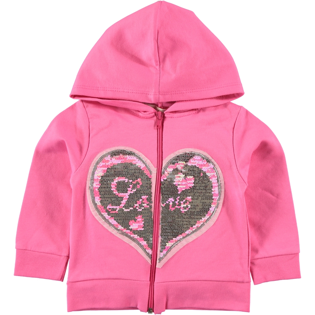 Pengim Fuchsia Hooded Cardigan Girls Age 1-4