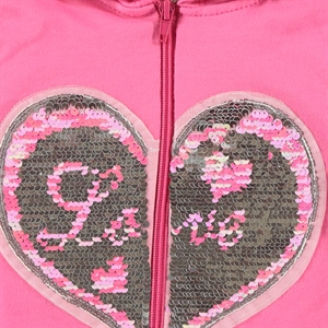 Pengim Fuchsia Hooded Cardigan Girls Age 1-4 (3)