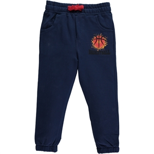 Cvl 2-5 Years Navy Blue Sweatpants Boy