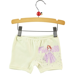 Donella Of Girl Yellow Boy Shorts Ages 2-10