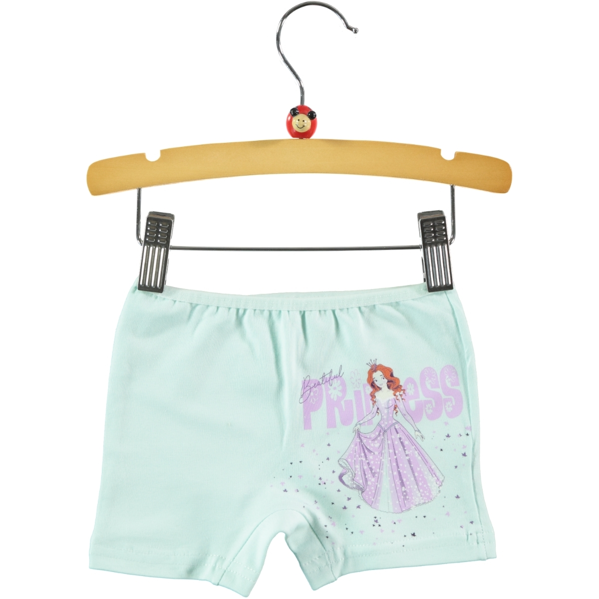 Donella Girl Mint Green Boy Shorts Ages 2-10