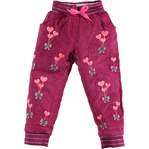 Civil Girls 2-5 Years Purple Girl Pants