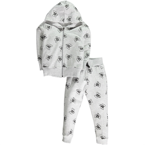 Civil Girls 2-5 Years Boy Girl Gray Sweat Suit