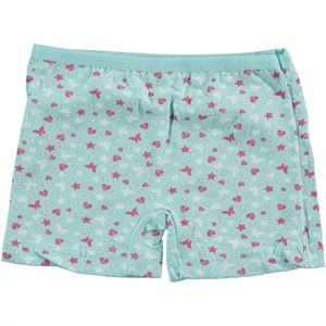 Öts Age 2-12 Girl Mint Green Boy Shorts