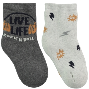 Civil Boy 2-gang Socket Sock 3-11 years smoked