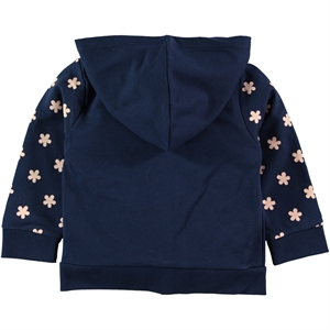 Pengim Navy Blue Hooded Cardigan For Girls Age 1-4 (2)