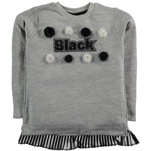 Civil Girls Sweatshirt Gray Kids Girl Age 6-9