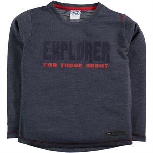 Civil Boys Navy Blue Sweatshirt Boy Age 6-9