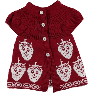 Civil Girls 2-5 Years Child Girl Vest Burgundy