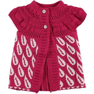 Civil Age 1-4 Girl Child Vest Girls Fuchsia