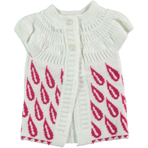 Civil Age 1-4 Girl Child Girls Vest Ecru