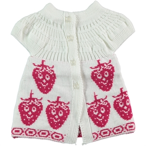 Civil Girls 2-5 Years Child Girl Vest Ecru