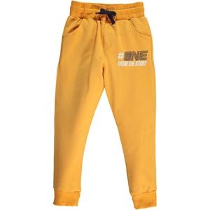 Cvl Mustard Sweatpants Boy Age 6-9