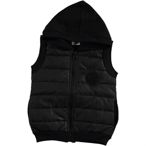 Civil Girls Girl Child Black Vest 2-5 Years
