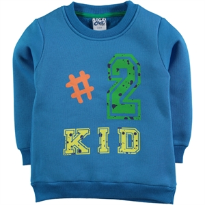 Civil Boys Boy Blue Sweatshirt Saks 2-5 Years