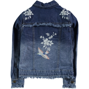 Civil Girls Girl Blue Denim Jacket Age 6-9 (2)