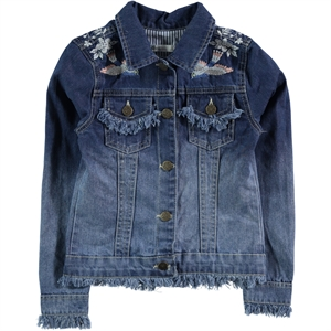 Civil Girls Girl Blue Denim Jacket Age 6-9 (1)