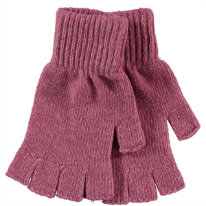 Slayt Children's Cut Finger Gloves 9-13 Years Pink (1)