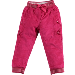 Civil Girls 2-5 Years Girl Pants Fuchsia