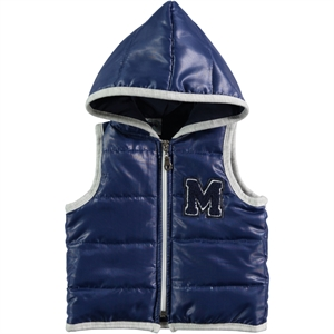 Civil Baby 6-18 Months Baby Boy Navy Blue Hooded Vest