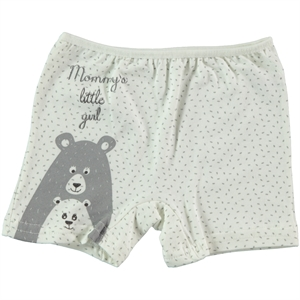 Donella The Ages Of 2-10 Girl Boy Shorts Ecru