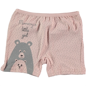 Donella Girl Boy Shorts Powder Pink Age 2-10