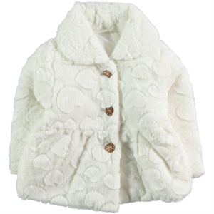 Civil Girls Ecru Coat Girls Age 2-5
