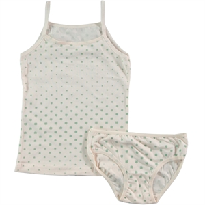 Donella Girl Child Underwear The Ages Of 2-8, The Team Yesil