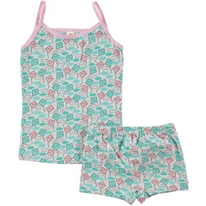Civil Team Pink Underwear Girl Child The Ages Of 2-8