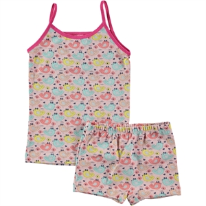 Civil The Girl Child-Patterned Underwear Fuchsia 2-9 Age Team