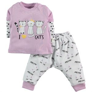 Babycool Lila Chirping 3-18 Months Baby Girl Layette