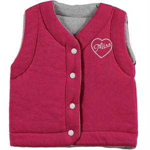 Civil Girls Girl Double-Sided Fuchsia Vest 2-5 Years