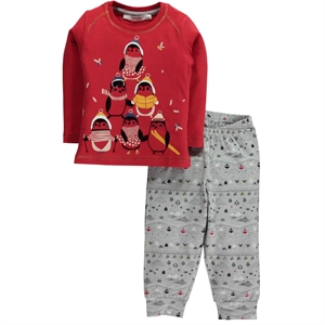 Roly Poly Age 1-4 Girl Slumber Red Team