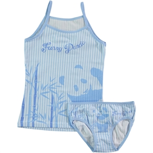 Donella The Ages Of 2-10 Blue Team Girl Child Underwear