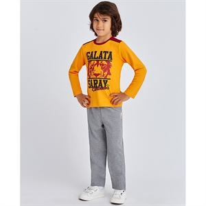 Galatasaray Yellow Pajama Boy Outfit Age 2-7