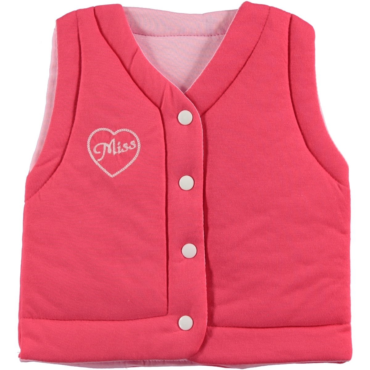 Civil Girls Girl Double-Sided Vest 2-5 Years ... Tongue In Cheek
