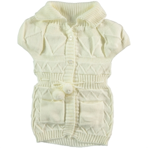 Civil 2-5 Years Child Girl Vest Ecru