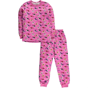 Civil Girls A Pajama Outfit Pink Girl Age 6-9
