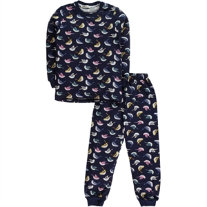 Civil Girls 6-9 Age A Pajama Outfit Navy Blue Girl