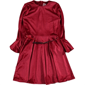 Missiva Red Dress Girl Age 10-13 (1)