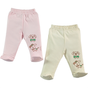Misket Baby Organic 2-Oh single child baby booty Pink 1-3 months