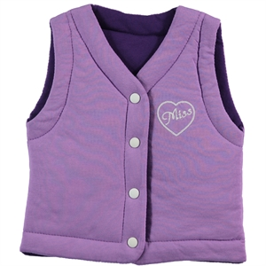 Civil Girls Girl Double-Sided Lila Vest 2-5 Years