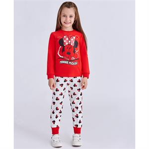 Minnie Mouse Age 1-4 Girl Slumber Red Team