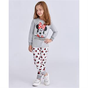 Minnie Mouse A Pajama Outfit Gray Girl 5-8 Years
