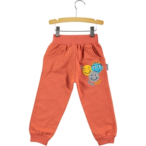 Gülücük 2-5 Years Boy Tracksuit Bottom Tile