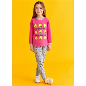Looney Tunes Girl Age 3-8 Team Tweety Pyjama Fuchsia