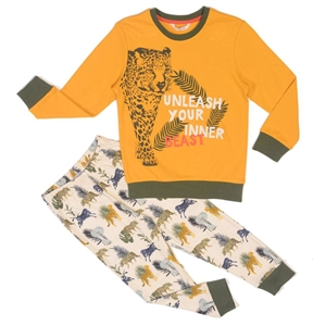 Roly Poly Yellow Team Pajama Boy The Ages Of 10-16